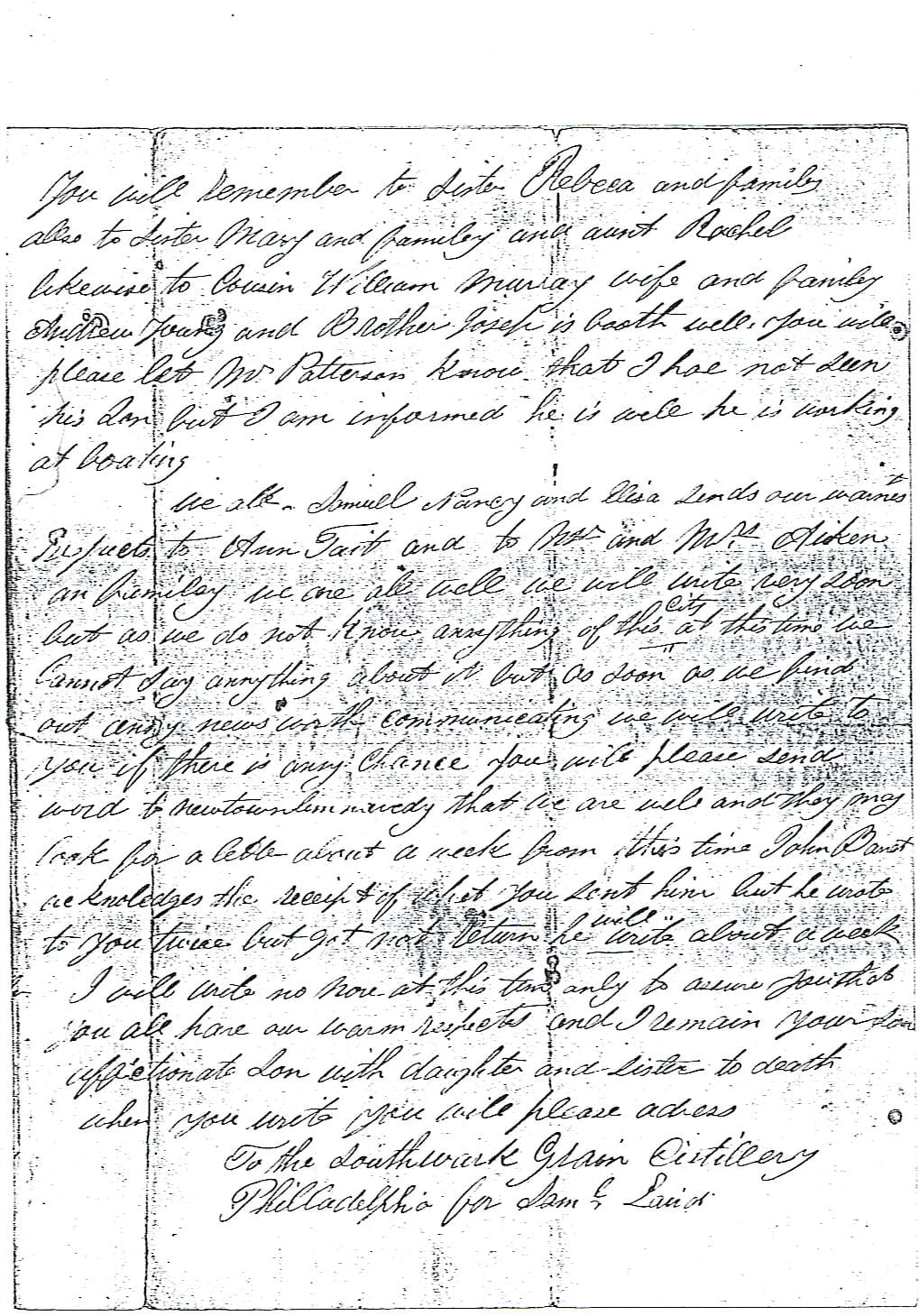 Elagh Laird - Letter 1 Page 3