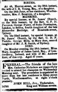 The Sydney Morning Herald (NSW : 1842 - 1954), Tuesday 29 June 1852