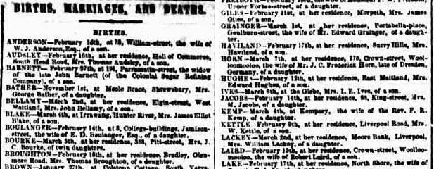 The Sydney Morning Herald (NSW : 1842 - 1954), Saturday 12 March 1859,